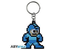 Mega Man - Schlüsselanhänger Pixel Art