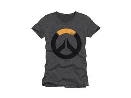 Overwatch - T-Shirt Logo grau (Größe M)