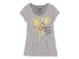 Overwatch - T-Shirt Heroes Never Die female (Größe S)