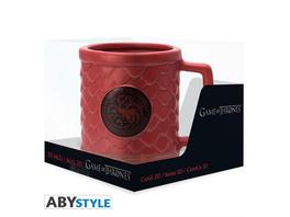 Game of Thrones - Tasse Targaryen 3D