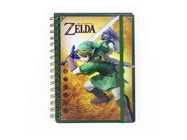 The Legend of Zelda - Notizbuch Link