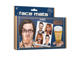 Gesichtsmasken Partyspiel