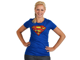 Superman - Logo Girlie Shirt