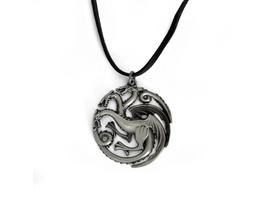 Game of Thrones - Targaryen Wappen Drachen Kette