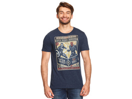 Captain America - Super Soldier Showdown T-Shirt blau