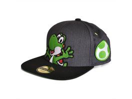 Super Mario - Yoshi Snapback Cap grau
