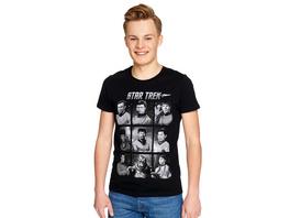 Star Trek - Characters T-Shirt schwarz