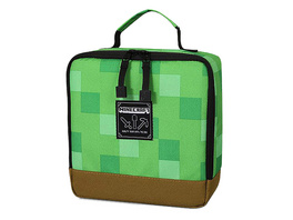 Minecraft - Pixel Block Lunchbox grün