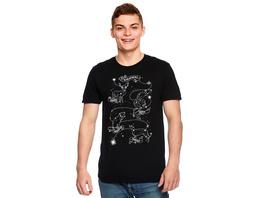 Harry Potter - Marauders Astrology T-Shirt schwarz