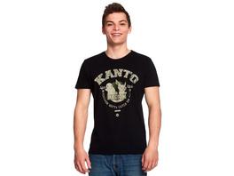 Pokemon - Kanto Region Starter T-Shirt schwarz