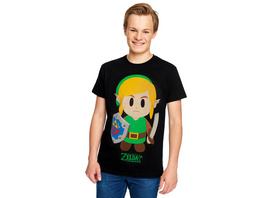 Zelda - Links Awakening T-Shirt schwarz