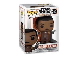 Greef Karga Funko Pop Wackelkopf-Figur - Star Wars The Mandalorian
