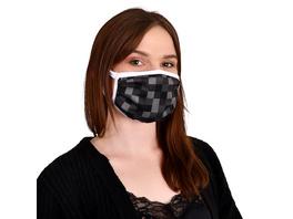 Pixel Gesichtsmaske für Minecraft Fans