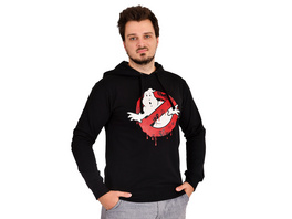 Ghostbusters - Glow in the Dark Logo Hoodie schwarz