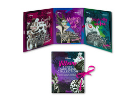 Disney - Villains Sheet Masken 3er Set