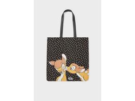 Shopper - gepunktet - Bambi