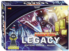 ZMan 691170 - Pandemic Legacy - Season 1